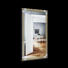 Изображение Зеркало с декоративными накладками 1500 х 800 мм. 052.8