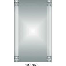 Изображение Зеркало 1000 х 600 мм. 02.18.64