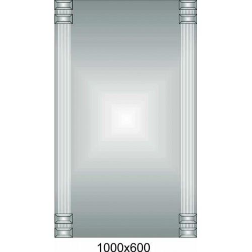 Изображение Зеркало 1000 х 600 мм. 02.18.64 - изображение 2