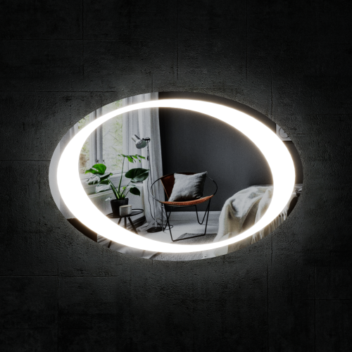 Изображение Зеркало с LED подсветкой 600 х 900 мм. 02.7.14 - изображение 4