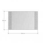 Зображення Дзеркало з підсвічуванням 500х800 мм 02.7.7 - изображение 3
