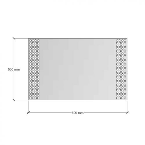 Зображення Дзеркало з підсвічуванням 500х800 мм 02.7.7 - изображение 7