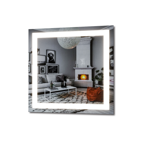 Изображение Зеркало с LED подсветкой 700 х 700 мм. 282 - изображение 5