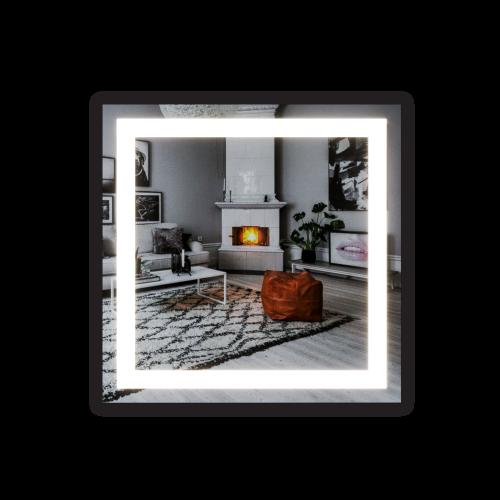 Изображение Зеркало с LED подсветкой 700 х 700 мм. 282 - изображение 6