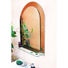Изображение Зеркало с полкой 660 х 460 (800 х 600) мм. 68-1