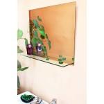 Изображение Зеркало с полкой 450 х 550 мм. 145 - изображение 1