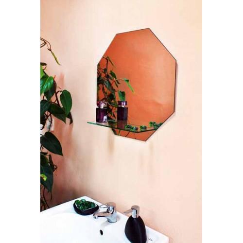 Изображение Зеркало с полкой 500 х 500 мм. 152 - изображение 2