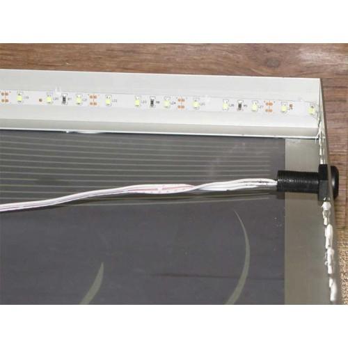 Зображення Сенсорний вимикач на дзеркалі з підсвічуванням (вид з тильного боку) 010.10.23.2 - изображение 2
