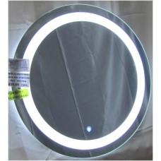 Изображение Зеркало с LED подсветкой и сенсорным выключателем (на прикосновение) Д-700 мм. 02.7.105