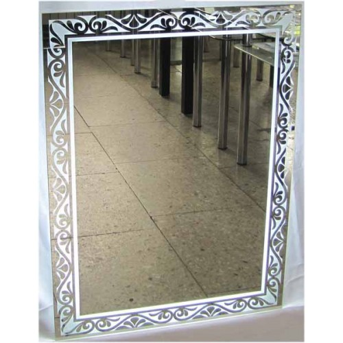 Изображение Зеркало с LED подсветкой 800 х 600 мм. 02.7.108 - изображение 5