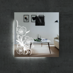 Изображение Зеркало  с LED подсветкой 800 х 800 мм. 02.7.19 - изображение 1