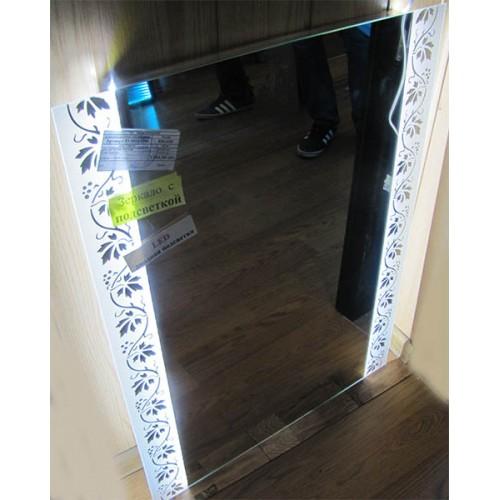 Изображение Зеркало с LED подсветкой 800 х 600 мм. 02.7.31. - изображение 2