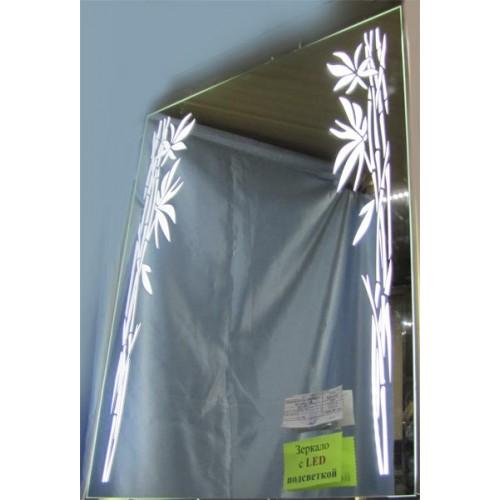 Изображение Зеркало с LED подсветкой 800 х 600 мм. 02.7.41 - изображение 2
