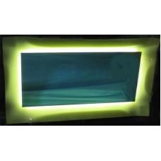 Изображение Зеркало с ЛЕД подсветкой  800 х 1400 мм. 02.7.45