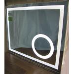 Изображение Зеркало с LED подсветкой и сферическим увеличительным зеркалом 850 х 1050 мм. 02.7.46 - изображение 1