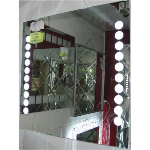 Изображение Зеркало с LED подсветкой 700 х 700 мм. 02.7.72 - изображение 2