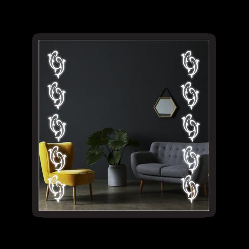 Зображення Дзеркало з LED підсвічуванням 700 х 700 мм. 02.7.99 - изображение 5