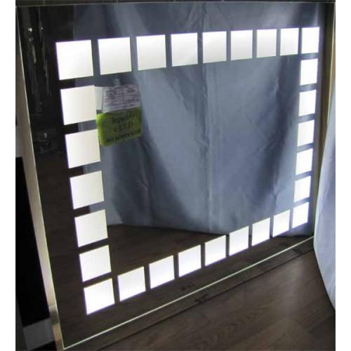 Изображение Зеркало с LED подсветкой 750 х 900 мм. 285 - изображение 2