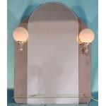 Изображение Зеркало с подсветкой 800 х 400 (800 х 600) мм. 063 - изображение 1