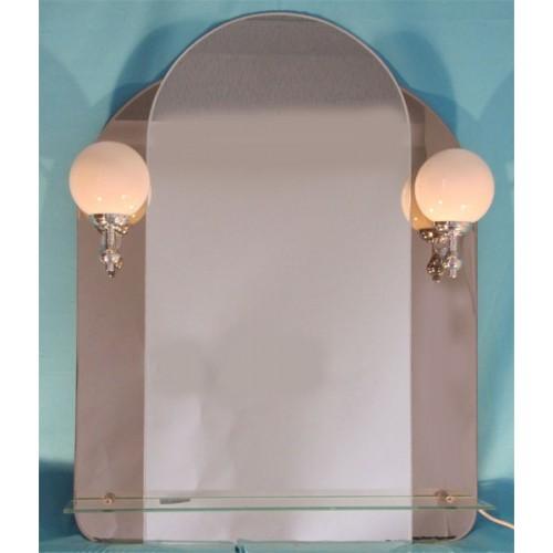 Изображение Зеркало с подсветкой 800 х 400 (800 х 600) мм. 063 - изображение 2