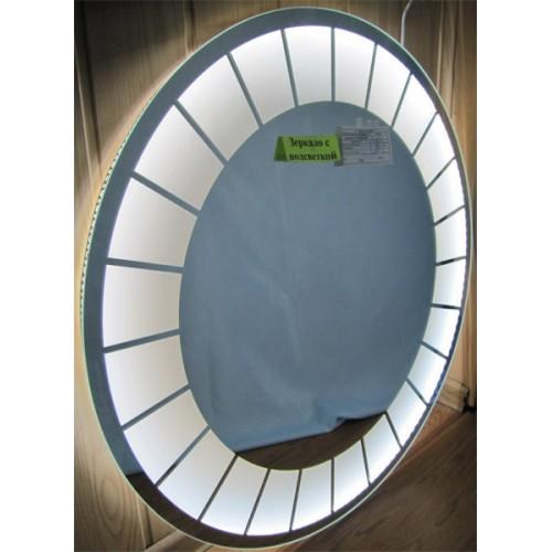 Изображение Зеркало с LED подсветкой Д-800 мм. 02.7.12 - изображение 2