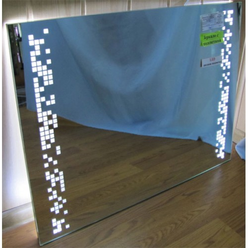 Изображение Зеркало с LED подсветкой 600 х 800 мм. 02.7.21 - изображение 2