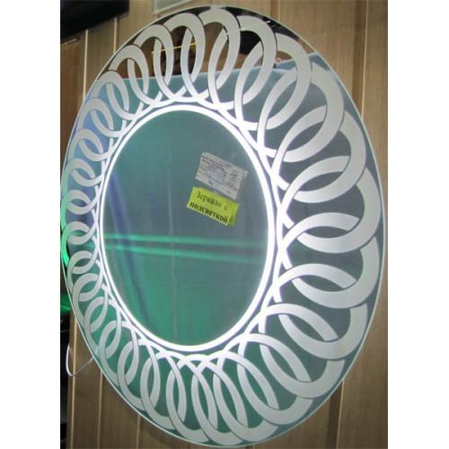 Зображення Дзеркало з LED підсвічуванням Д-800мм 02.7.25 - изображение 2