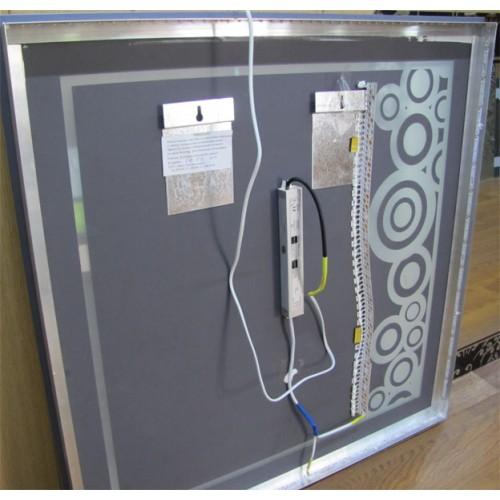 Зображення Вид с тильного боку дзеркала з LED підсвічуванням 02.7.27 - изображение 2