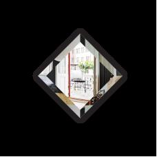 Изображение Плитка зеркальная, фацет 15 мм, 150 х 150 мм. 688