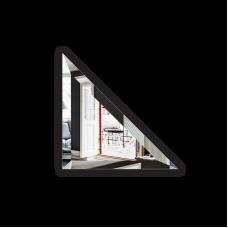 Изображение Плитка зеркальная 200 х 200мм. с фацетом 15 мм треугольная 695