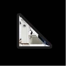 Изображение Плитка зеркальная 150х150 с фацетом 10 мм треугольная 694